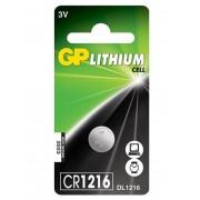 GP CR 1216 3V lítium gombelem