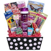 Girl Stuff Birthday Or Special Occasion Gift Basket For Girls And Tweens!