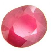Manik 10.87 Cts Certified Oval Cut Astrology Ruby Gemstone