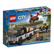 Lego city great vehicles team da corsa fuoristrada 60148
