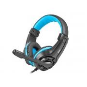 HEADPHONES, Fury WILDCAT, Microphone, Black (NFU-0862)