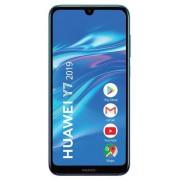"Telefon Mobil Huawei Y7 2019, Procesor Qualcomm 450, Octa-Core, IPS Capacitive touchscreen 6.26"", 3GB RAM, 32GB Flash, Camera 13+2MP, 4G, Wi-Fi, Dual SIM, Android (Albastru) + Cartela SIM Orange PrePay, 6 euro credit, 6 GB internet 4G, 2,000 minute nation"