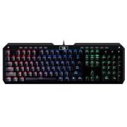 KBD, Redragon K555 Indrah RGB, Gaming, механична, USB (K555RGB-BK)