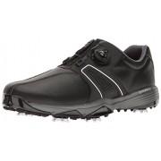 adidas Men's 360 Traxion Boa Cblack/FT Golf Shoe, Black, 9 M US