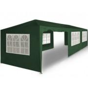 Zielony Pawilon Ogrodowy Handlowy 3x9 Namiot