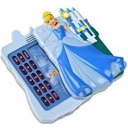Disney Store Cinderella Light Up Toy Cell Phone With Sounds