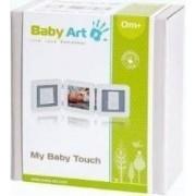 Baby Art - My Baby Touch. Set de amprenta cu rama de poza - Alb