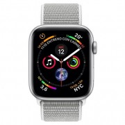 Apple Watch Series 4 GPS + Cellular 40mm Aluminio Plata con Correa Loop Gris