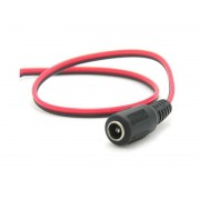 Power Cable 2 Core to Female DC 12V Connector used for CCTV Security Camera Power over Network Cable