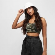 Urban Classics Camo Bra - Camo - Size: Medium; female