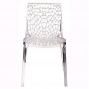 Set de 2 scaune HoReCa interior-exterior, CAPRICHO-TR transparent 537.SCAPRITR SDM