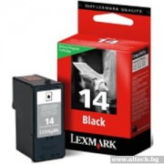 LEXMARK 14 Inkjet Cartridge black (18C2090E)