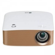 Мултимедиен проектор LG PH150G Portable MiniBeam Projector, Built-in type to 2.5 hour battery life,RGB LED, LCoS , HD (1280x720), 100 000:1, 130 ANSI