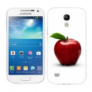 Husa Samsung Galaxy S4 Mini i9190 i9195 Silicon Gel Tpu Model Red Apple