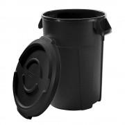 rothopro Multifunctionele afvalbak van kunststof, inhoud 120 l, b x h x d = 650 x 750 x 435 mm rothopro