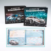 Vriendschap boek autos Monster Cars