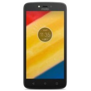 "Telefon Mobil Motorola Moto C Plus, Procesor Quad-Core 1.3GHz, TFT capacitive touchscreen 5"", 1GB RAM, 16GB Flash, 8MP, Wi-Fi, 4G, Dual Sim, Android (Auriu) + Cartela SIM Orange PrePay, 6 euro credit, 6 GB internet 4G, 2,000 minute nationale si internatio"