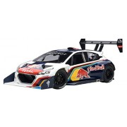 2013 Peugeot 208 T16 Pikes Peak Race Car Red Bull 1/18 by Autoart 81354