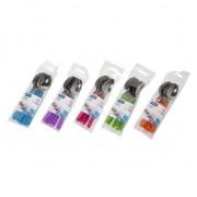 Merkloos Gekleurd bestek plastic lepels 6 stuks