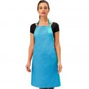 Merkloos Keukenschort tuquoise voor volwassenen - Action products