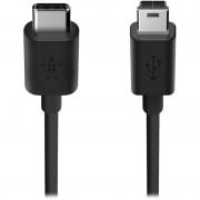CABLU BELKIN 2.0 USB-C TO MINI-B BLK