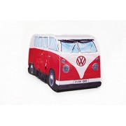 VW Camper Van Pop Up Play Tent for Kids- Red