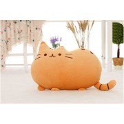 Cute Stuffed Brown Cat Plush Animal Soft Toy