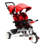 Triciclo Gémeos c/ Assentos Giratórios Twin Red