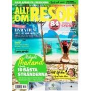 Tidningen Allt om Resor 6 nummer
