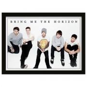 Poster înrămat Bring Me The Horizon - Group - PYRAMID POSTERS - FP10807P