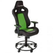 Scaun gaming Playseat L33T GREEN Negru/Verde, Piele, Metal