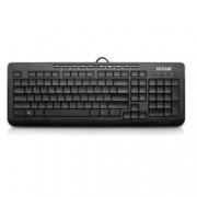 Клавиатура Delux K3100 EN, черна, USB