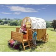Casuta din lemn Chariot de JESSY Soulet