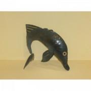 Delfines fém mécsestartó