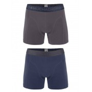 MuchachoMalo Boys 2-pack Short Grijs