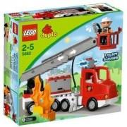 Lego 5682 - Duplo Ville : Le Camion Des Pompiers Avec L'échelle