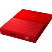 WD My Passport 4TB Red