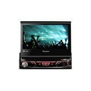 Dvd Player Pioneer 7 Polegadas AVH-3880 Retrátil USB Aux Touch Screen