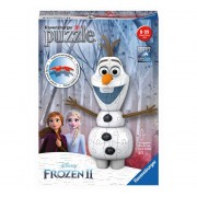 Puzzle Ravensburger 3D Olaf Frozen II, 54 piese