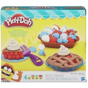 Set de 4 Masas moldeables Pasteles divertidos Play-Doh-Multicolor