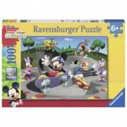 RAVENSBURGER puzzle (slagalice) - miki sa skejtom RA10923