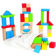 Hape-Wooden Maple Blocks
