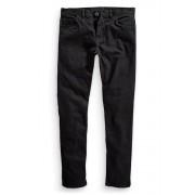 Mens Next Solid Black Stretch Slim Fit Jean - Black Trousers