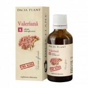 Tinctura de valeriana 50ml Dacia Plant