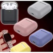 Akciós csomag! Apple Watch óraszíj kövekkel kirakva + Baseus AirPods szilikon tok