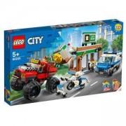 Конструктор Лего Сити - Кражба на полицейски камион чудовище, LEGO City Police 60245