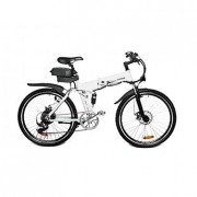 Mountain E-Bike Nordic White