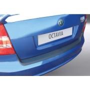 Protectie bara spate SKODA OCTAVIA VRS 2007-2008 hatchback NEGRU MAT RGM AutoLux