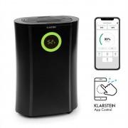 Klarstein DryFy Pro Connect, обезвлажнител за въздух, WiFi, компресия, 20 l / d, 20 m², 370 W, черен (DXJ6-DryFy-Pro-Conn)