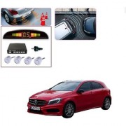 Auto Addict Car Silver Reverse Parking Sensor With LED Display For Mercedes Benz A-Class